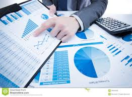 Report Business Man Hand With Business Report Stock Photo Image Of Finances