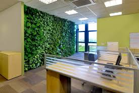 pictures for an office wall. Office Feature Wall Using Artificial Plants Pictures For An