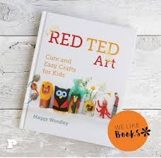 it s time for a book review again and today s tips is the fantastic book red ted art cute and easy craft for kids it is a book entirely in our taste