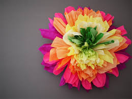 Tissue Paper Flower Diy Crepe Paper Flowers Honestly Wtf