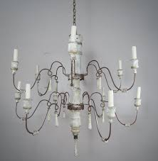 fancy black wrought iron chandelier with crystals 34 crystal orb floor lamp chandeliers restoration hardware large