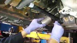 Fuel Filter Change - YouTube