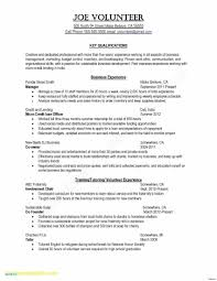 Resume With No Work Experience Template Resume Template For