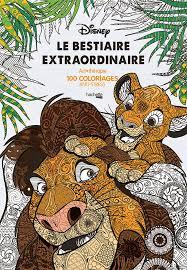 Amazon Fr Le Bestiaire Extraordinaire 100 Coloriages Anti