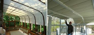 sunroom and solarium shades by thermal