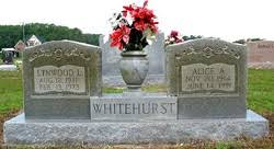 Alice Aileen Mosley Whitehurst (1914-1991) - Find A Grave Memorial