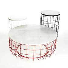 wire coffee table original design coffee table walnut white oak steel wire side table lidl wire coffee table