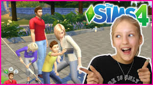 Creating My Real Life Family in SIMS 4 - YouTube