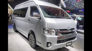 2018 Toyota Hiace Luxury 10-Seater MPV India Launch Specifications ...
