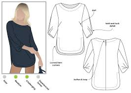 Tunic Sewing Pattern Inspiration Sadie Tunic Style Arc