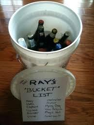 gag gifts birthday bucket list golf