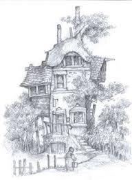 Small Picture fairy tree house coloring pages Google Search free printabels