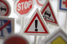 how many sweepstakes should you enter daily to win a toy hazard sign surrounded by other various road warning signs