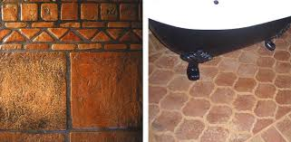 s1375792 mexican style tile style tile heritage simple terracotta in bathroom mexican talavera tiles uk