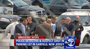 Walmart Garfield Nj New Jersey Police Officer Suspect Shot Outside Walmart In