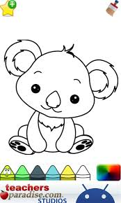 Small Picture Baby Animals Coloring Book Android Apps on Google Play