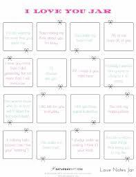 How To Create A Reasons Why I Love You Jar Pretty Free Printables