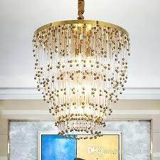 artistic led light fixtures post modern crystal chandelier dining room pendant