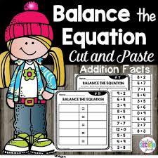 balancing equations teaching second grade