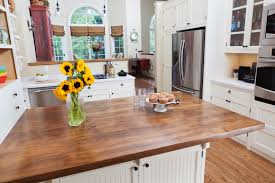 white country kitchen with butcher block. How To Care For Your Butcher Block Countertops White Country Kitchen With