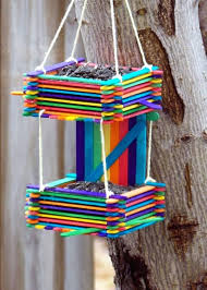 popsicle stick chandelier stick crafts bird house ideas diy popsicle stick chandelier