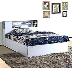 white twin storage bed. Twin Storage Bed With Bookcase Headboard Size White