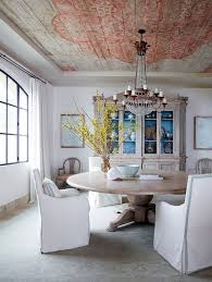 shabby chic dining room furniture. Turn To The Ceiling Bring Excitement Shabby Chic Dining Room  [Design: Furniture L