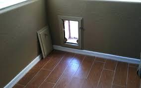 dog door for wall pet door wall installation
