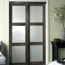 interior doors with glass panels fascinating interior doors with glass panel 3 lite 2 panel sliding