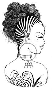 Coloring For Natural Hair Unique Afro Hair Coloring Pages Coloring