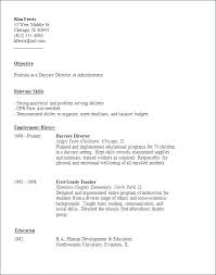 Child Care Resume Sample Interesting Sample Child Care Resume Day Care Worker Resume Day Care Resumes