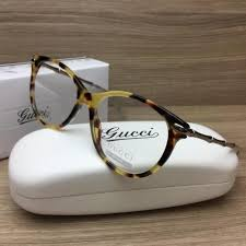gucci 3780. gucci gg 3780 gg3780 eyeglasses frame yellow havana palladium hrt authentic 53mm p