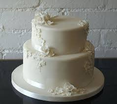 Two Tier Simple Wedding Cakes Wedding Cake Kostina Olgacom
