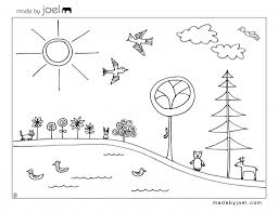 Made By Joel Earth Day Coloring Sheet