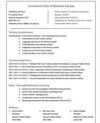 Cv Primary School Teacher Creative Teacher Cv Templates Resume Primary School Sample Download