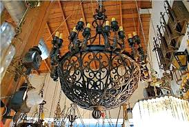 rod iron chandeliers large iron chandelier designs rustic wrought iron chandeliers