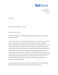 Recommendation Letter For Colleague Letter From Colleague Helena