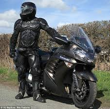 motorcycle leathers that let you hit the open road as batman a