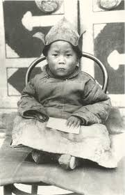 a saturday professor olsen large the 14th dalai lama as a child in amdo shorty after his discovery by a party of monks