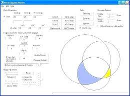 Interactive Venn Diagram Generator Online Diagram Maker 2 Circles New Free Template