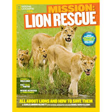 Small Picture National Geographic Kids Mission Lion Rescue National