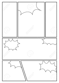 Manga Storyboard Layout Template For Rapidly Create The Comic
