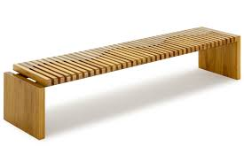 contemporary bench  wooden  recovered materials  onda  rotsen