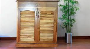 picture of voliri teak wood shoe rack