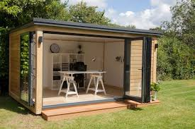 outside office shed. Garden Office Image With Charming Shed Ideas Backyard Plans Conversion Space Outside Kits Of