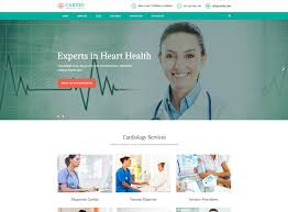 Cardiology Medical Bootstrap Website Templates Free Ease