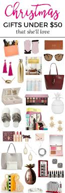 The Best Christmas Gift Ideas for Women under $50