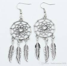 Dream Catcher Earings Delectable 32 New Hot Sale Dreamcatcher Earrings Dream Catcher Feather Tassel