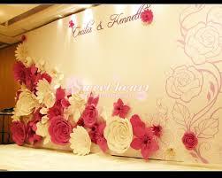 Paper Flower Wedding Decorations Oversized Paper Flowers Fashion Show 2013 Fashion Large Wedding