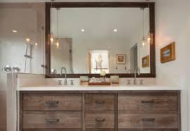 ideal bathroom vanity lighting design ideas. Wooden Mirror Vanity Table Ideal Bathroom Lighting Design Ideas D